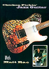 Chicken Pickin Jazz Guitar Instruction DVD